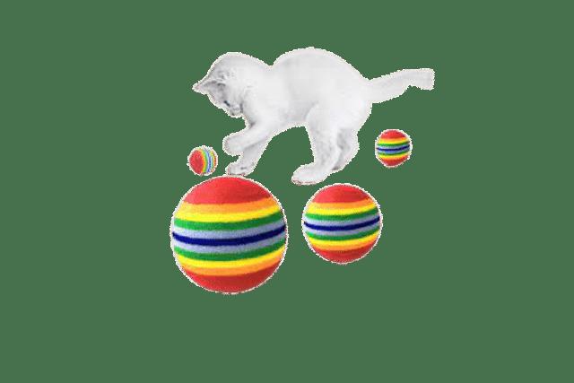 cat balls toys